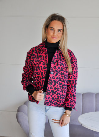 TESS V Nanouk jacket pink