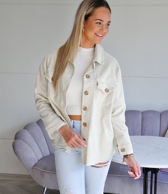 TESS V Dominique jacket beige