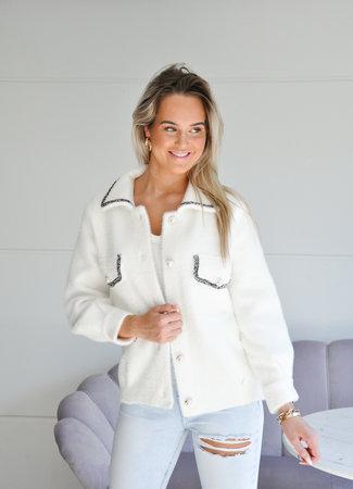 TESS V Jenna jacket white