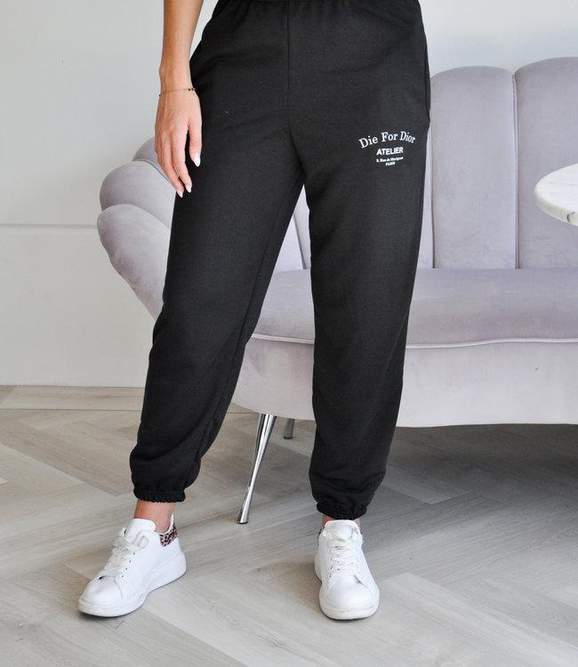 TESS V Atelier sweatpants black