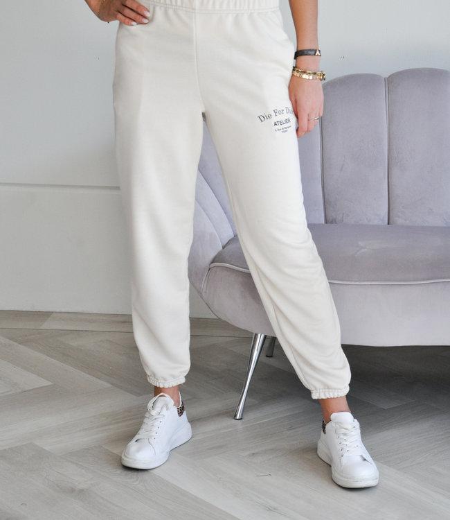 TESS V Atelier sweatpants beige