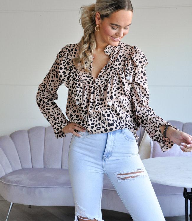 TESS V Safae blouse print