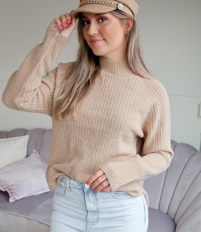 TESS V Amira sweater beige