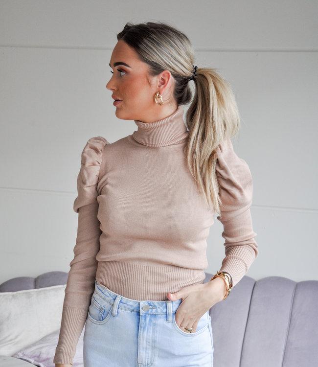 TESS V Julia sweater beige