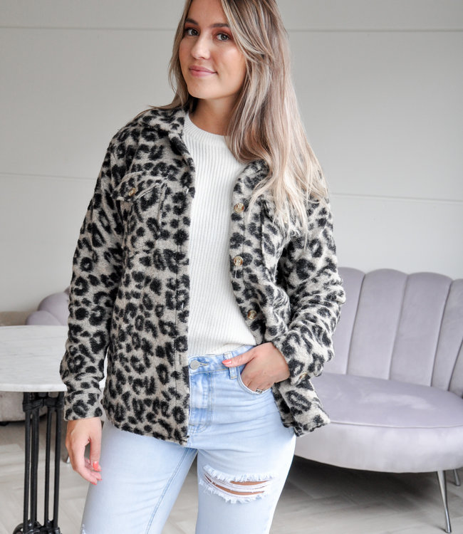 TESS V Melody jacket grey