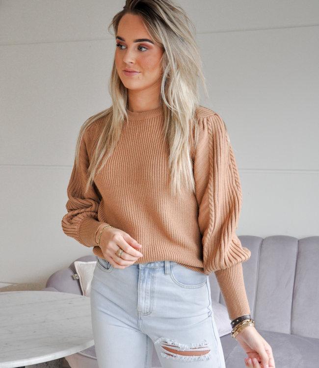 TESS V Nynke sweater beige