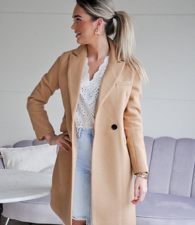 TESS V Vienna coat camel