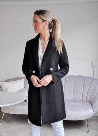 TESS V Vienna coat black