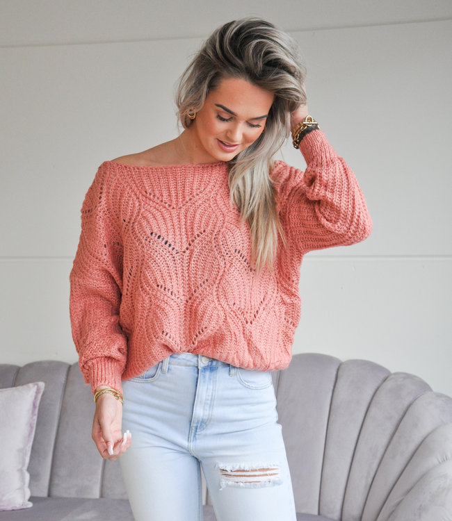 TESS V Kae sweater pink