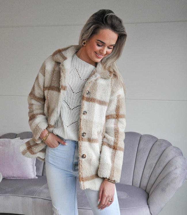 TESS V Stella teddy jacket