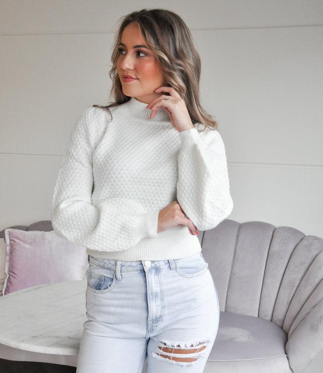 TESS V Valerie sweater white