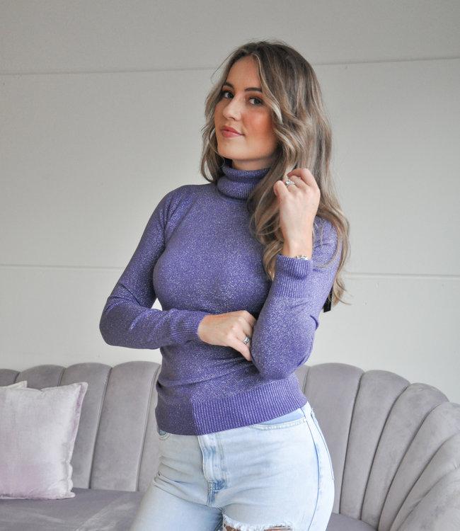 TESS V Elsa glitter col purple