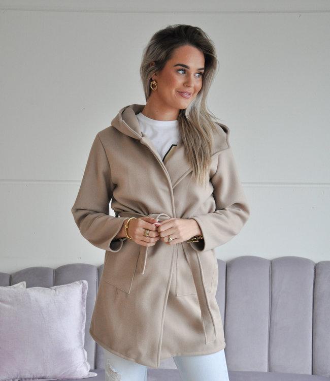 TESS V Julie coat beige