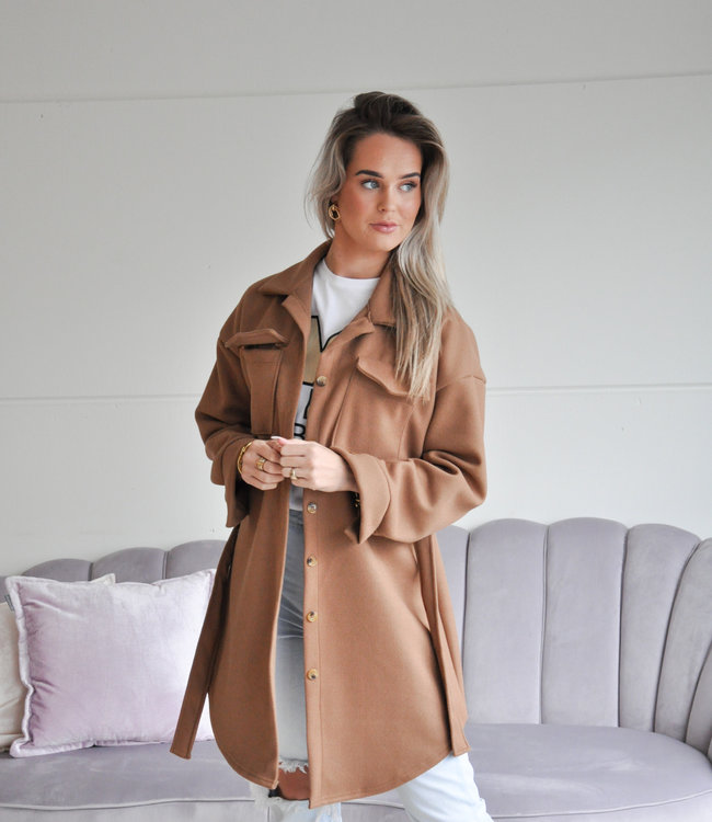 TESS V Malou coat camel