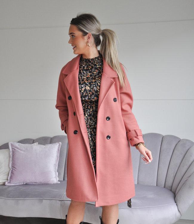 TESS V Marie coat pink