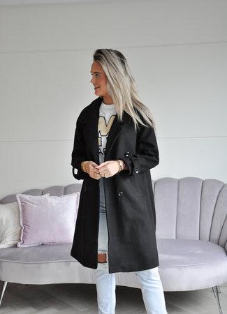 TESS V Marie coat black
