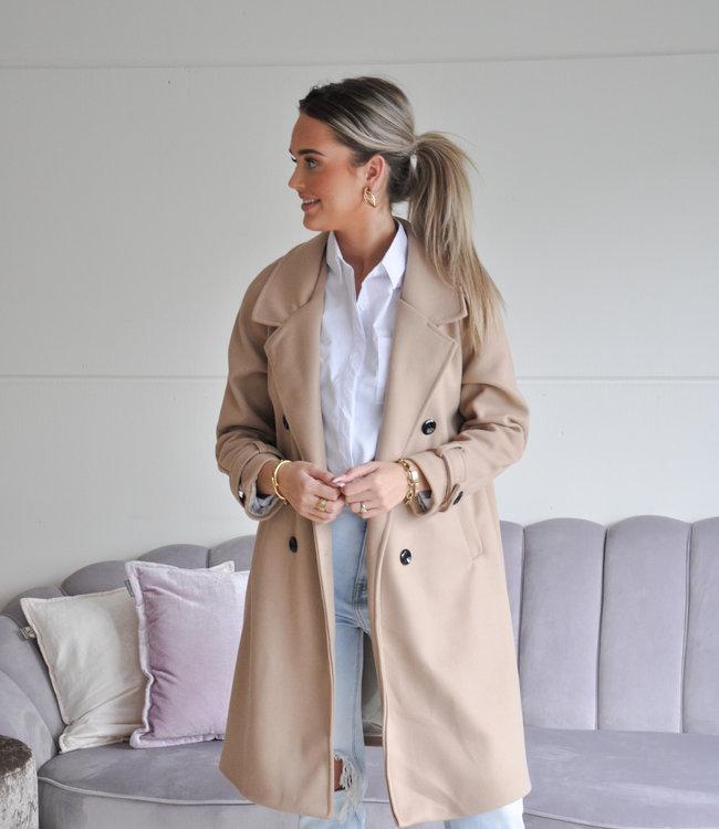 TESS V Marie coat beige