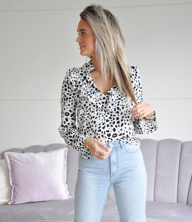 TESS V Romee blouse white