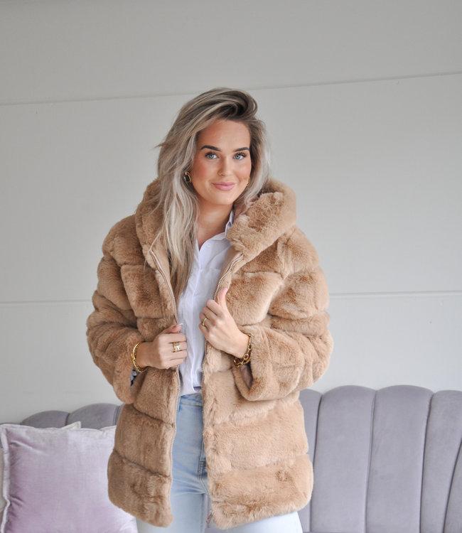 TESS V Zoe coat camel