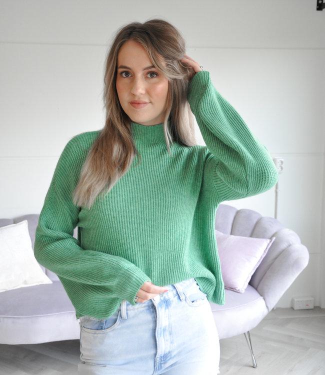 TESS V Sammy sweater apple