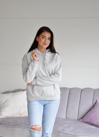 TESS V Fenna hoodie grey