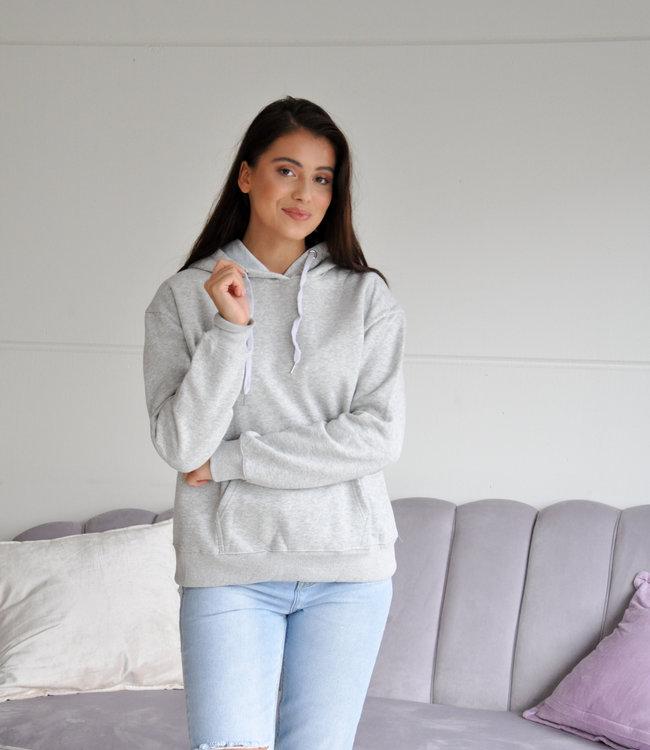 Fenna hoodie grey