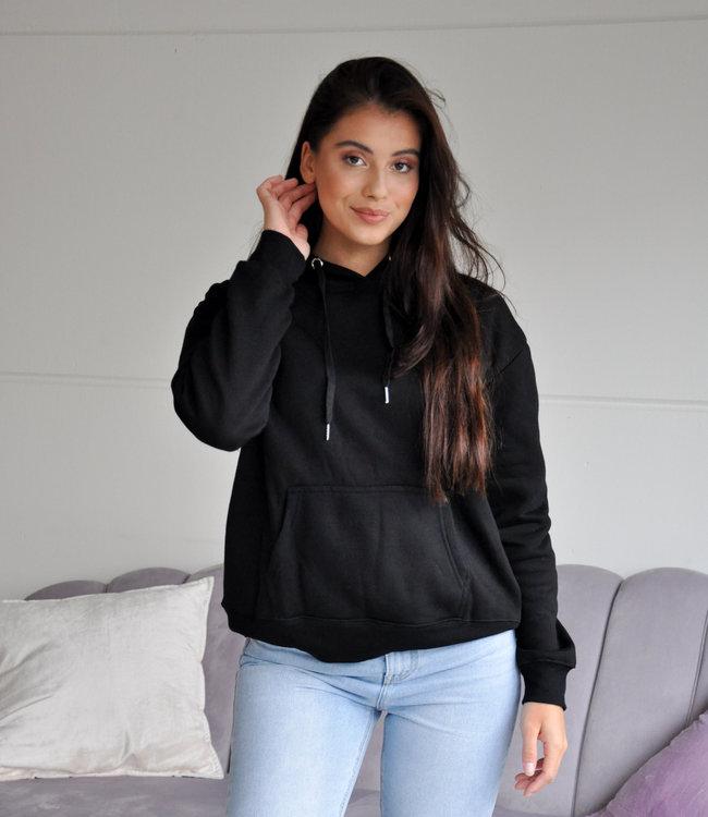Fenna hoodie black