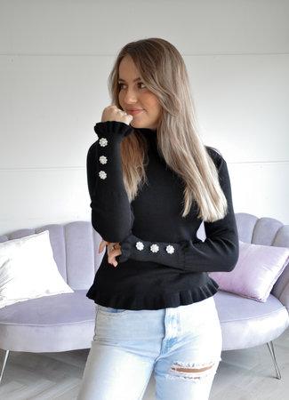 TESS V Lolita sweater black