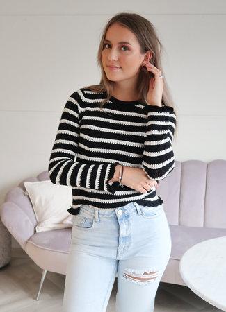 Puck sweater black