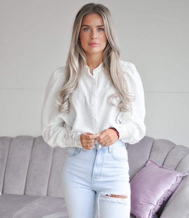 TESS V Suus blouse white