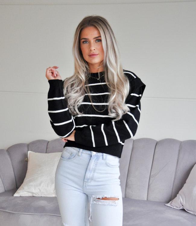 TESS V Bregje sweater black