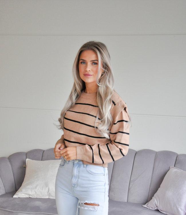 TESS V Bregje sweater brown