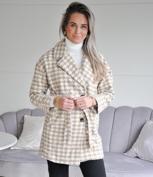 TESS V Larissa coat beige