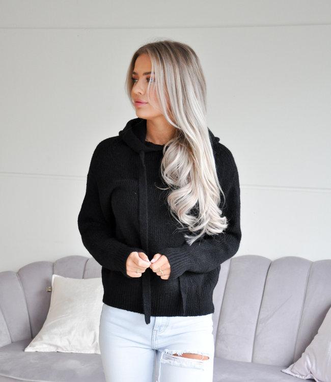 TESS V Soft hoodie black