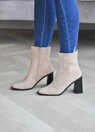 Jana heels beige