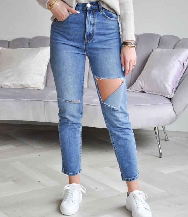 Kim mom jeans
