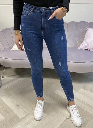 MISS Jolijn jeans dark blue