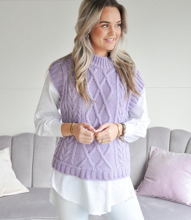 TESS V Merel spencer purple