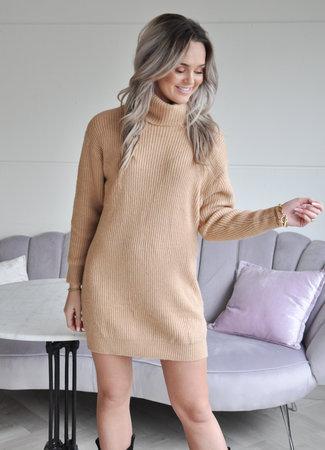 TESS V Anouk col dress camel