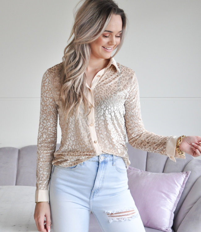 TESS V Estelle blouse beige