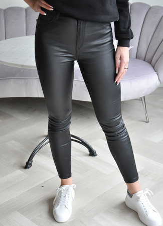 MISS Loraine leather pants