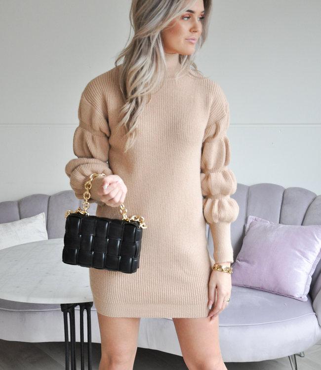 TESS V Marly sweater camel