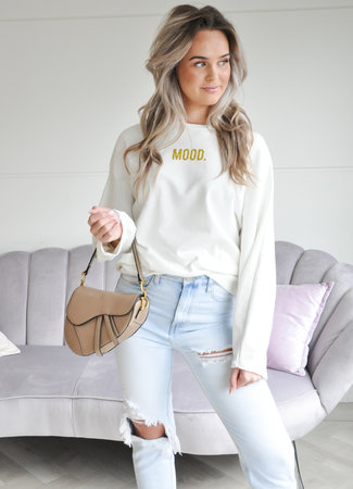TESS V Mood sweater gold