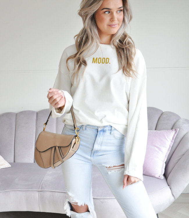 Mood sweater gold