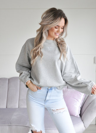 TESS V Mood sweater grey