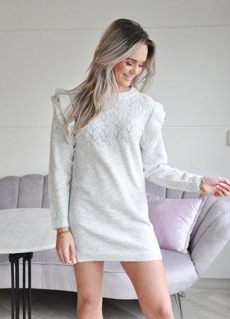 TESS V Solane dress grey