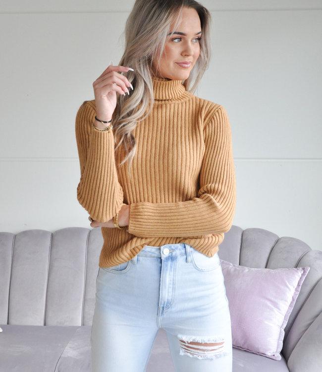 Ambika Jinthe sweater camel
