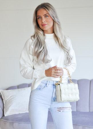 TESS V Livvy sweater white