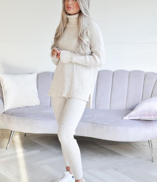 TESS V Marit comfy set beige