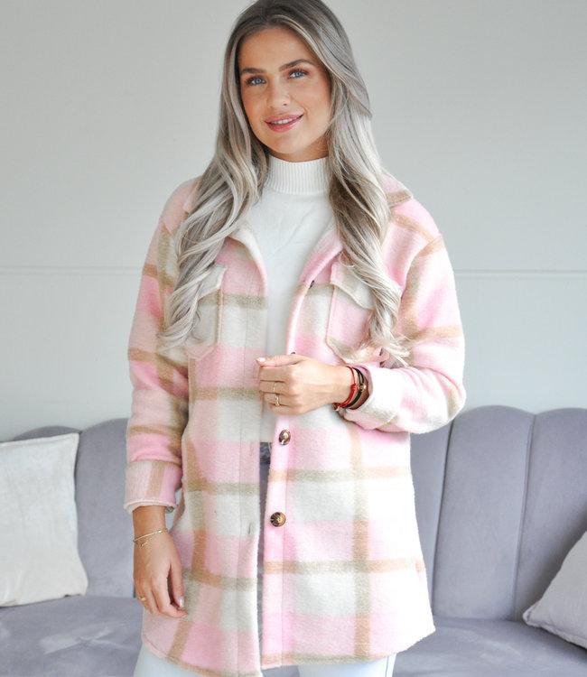TESS V Myrthe jacket pink